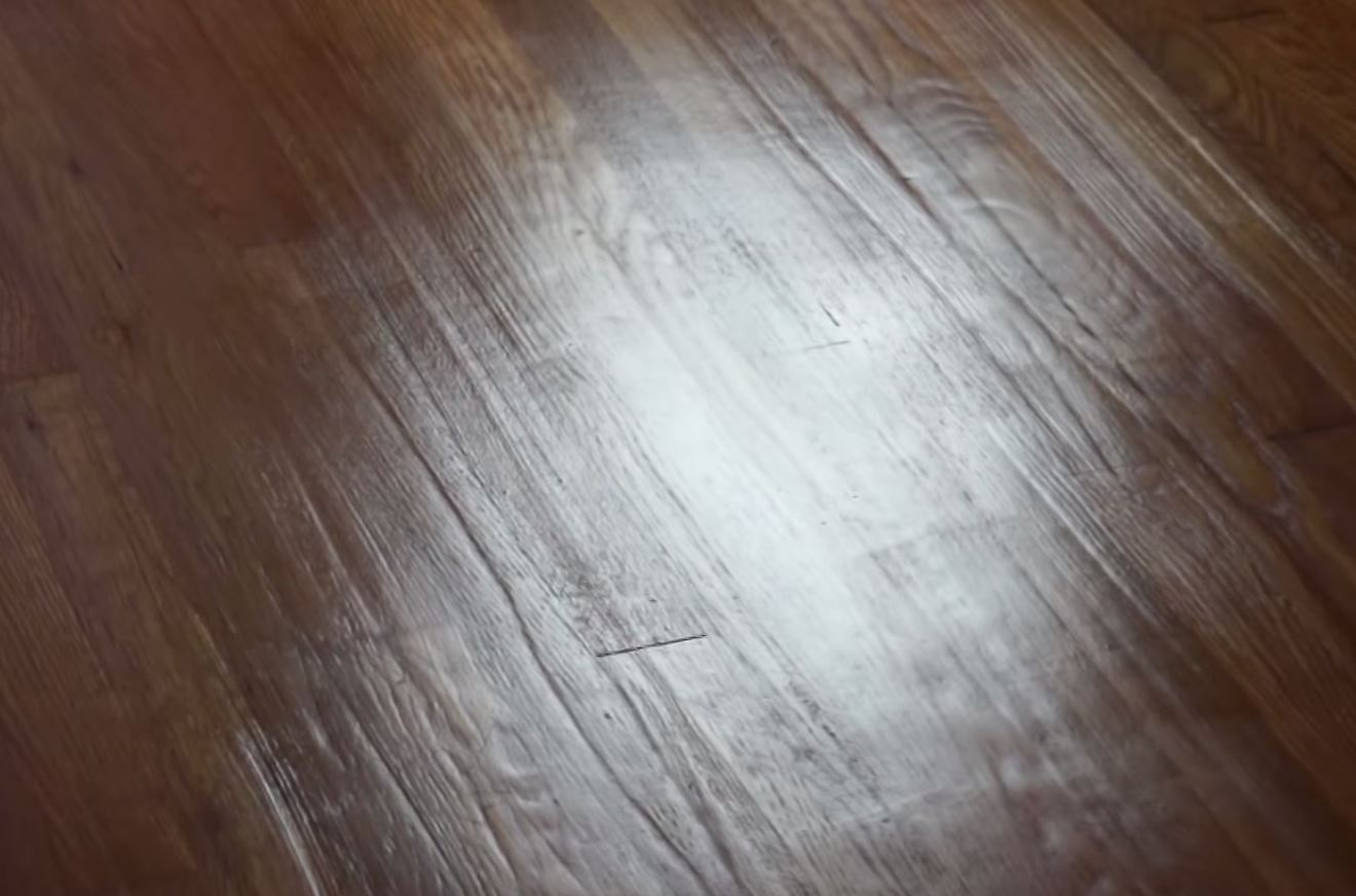 Bad floor refinishing job chicago flooring innovations for Sanding hardwood floors