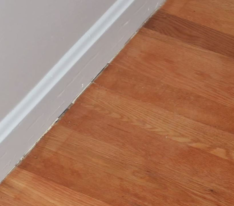 Bad Sanding Around The Edges Of Room