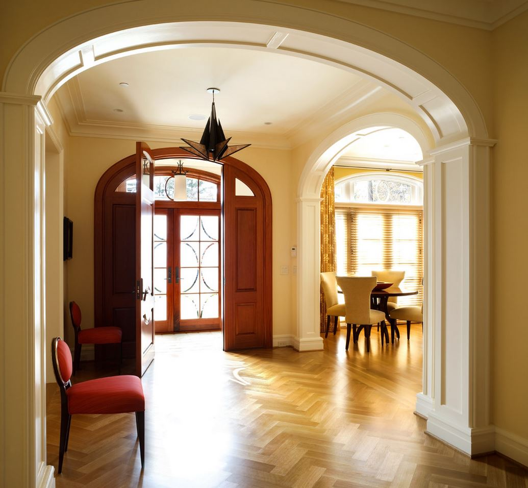 Difference Between Foyer And Entry : Wood flooring patterns