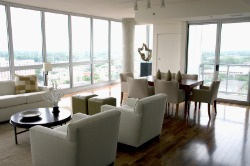Chicago hardwood flooring high rise